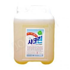[세제]대용량청소세제샤크린18L/다목적청소,작업복세척/주방세제/욕실세제