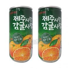 [음료수]**무료배송**롯데/제주사랑감귤사랑 미니175ml/국내 제주산 감귤주스