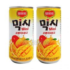 [음료수]**무료배송**델몬트/믹시 미니/오렌지&망고175ml/오렌지망고음료